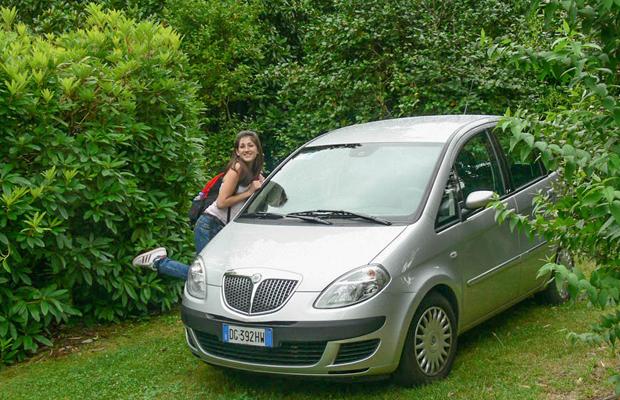 נהיגה באיטליה עם ילדים