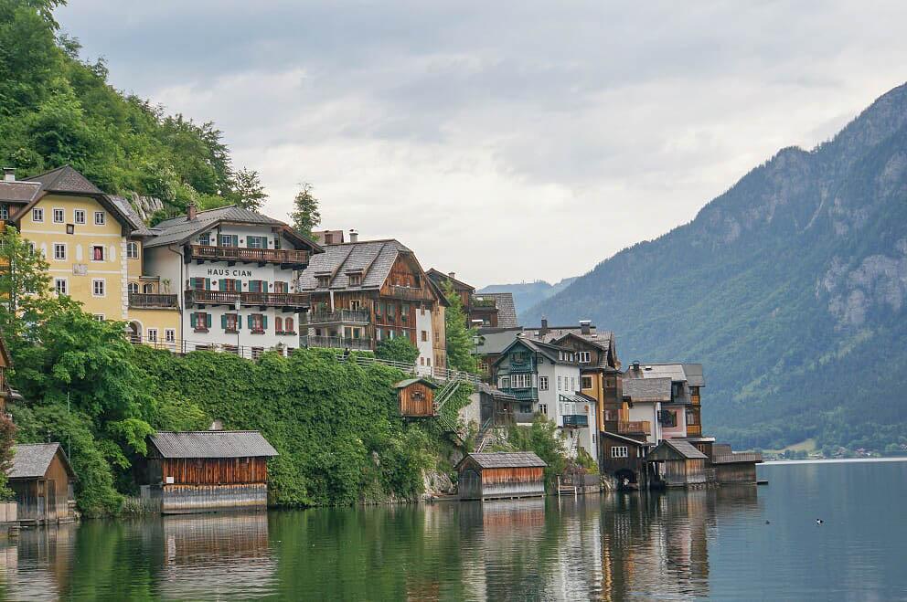 העיירה הלשטאט באוסטריה